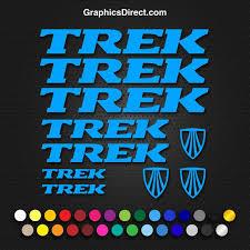 Trek Vinyl Replacement Decal Sticker Sets