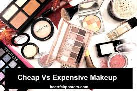vs expensive makeup in 2019
