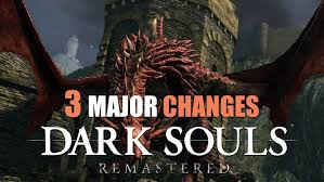 dark souls remastered what s diffe