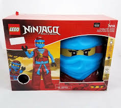 Disguise Lego Ninjago Nya Deluxe Halloween Costume Girls Childs Medium 7-8  NEW for sale online