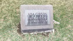 Ada Gibson (1874-1940) - Find A Grave Memorial