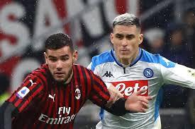 Calcio in tv oggi e stasera: Napoli-Milan, dove vederla. Tutte le ...