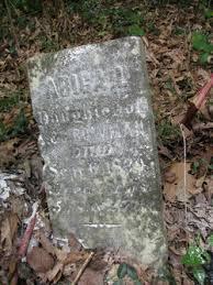Abigail Bowman (1835-1839) - Find A Grave Memorial