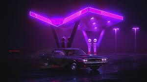 neon car live wallpaper wallpaperwaifu