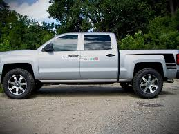 Decal Graphic Sticker Side Sport Stripe Kit Compatible With Chevrolet Silverado 2014 2017 Ultimateprocy
