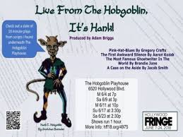 Live From The Hobgoblin, It's Hank!