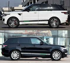 Graphics Vinyl Side Skirt Car Sticker Decal Racing Stripe Fit Land Rover 2 Pcs Ebay
