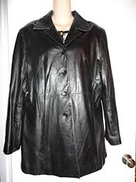 leather jacket coat size xl