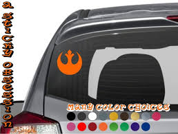 Star Wars Inspired Rebel Alliance Emblem Decal A Sticky Obsession
