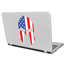 American Spartan Decal Sticker For Car Window Laptop And More 950 Yoonek Graphics