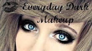 emo makeup tutorial for blue eyes