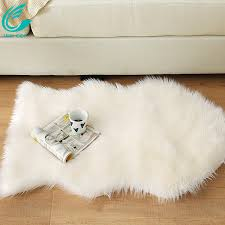chinese faux fur sheepskin rugs