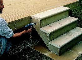 How To Add Steps Railing To Decking Ideas Advice Diy At B Q
