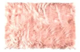 pink faux sheepskin rug rahmens info