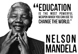 quotes about education from nelson mandela quotes