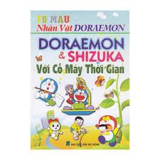 8935092781815 - TÔ MÀU NHÂN VẬT DORAEMON: DORAEMON VÀ SHIZUKA VỚI ...