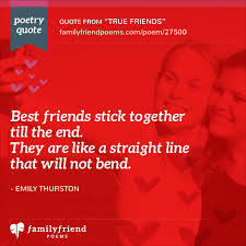 16 short friendship poems best short