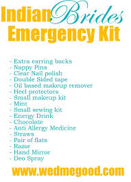 bridal emergency kit