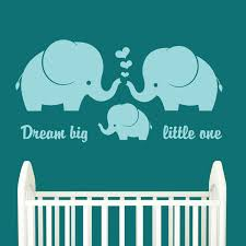 Amazon Com Ditooms Elephant Wall Decal Elephant Family Baby Nursery Wall Decal With Quote Large World Map Nursery Wall Decal Baby Room Decor Home Kitchen