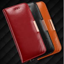 genuine leather wallet case