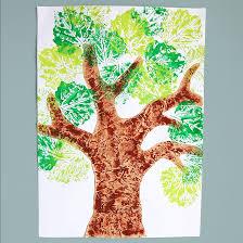 Leaf Prints   Kids' Crafts   Fun Craft Ideas   FirstPalette.com