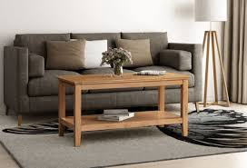 distressed oak large coffee table solid