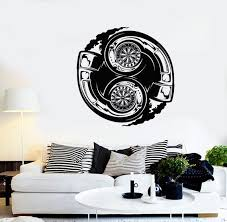 Wall Vinyl Decal Car Truck Exhaust Pipe Mechanic Decor 2329di Etsy