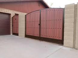 Rv Gate Wooden Garden Gate Gate Design Iron Gates