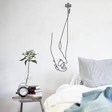 41 Off 2020 Bedroom Living Room Decorative Stickers Decals Home Decor Diy Art In Black Dresslily
