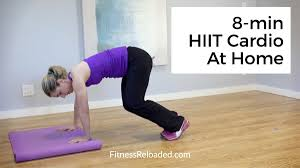 8 minute hiit cardio workout