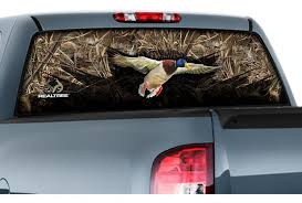 Camowraps Rear Window Graphics Window Film Realtree Camo