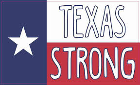 5 3 Texan Flag Texas Strong Sticker Car Window Bumper Cup Tumbler Decal Stickertalk
