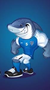 صور القرش الهلالي تميمة شعار نادي الهلال صور قرش الهلال