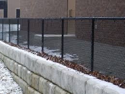 Chain Link Fence Vinyl Coated Fencing Galvanized Chain Link