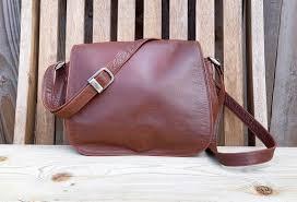 vintage tula brown leather shoulder bag