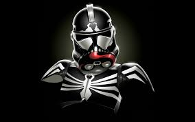 star wars minimalistic stormtroopers