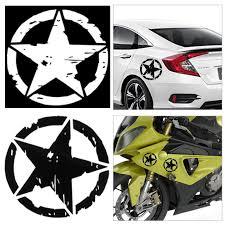Auto Army Star Pentagram Car Sticker Refit Vinyl Reflective Decal Truck Window 15x15cm Car Accessories Car Stickers Aliexpress