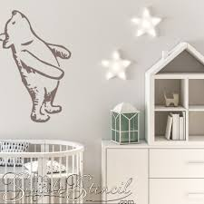 Keep Looking Up Winnie The Pooh Wall Graphic Decal Baby Nursery Decor