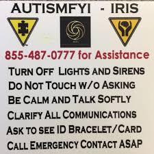 Car Window Alert Decal Autism Fyi Org