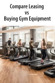 gym equipment leasing rates vs ing