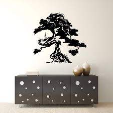 Amazon Com Bonsai Tree Vinyl Wall Decal Sticker Handmade