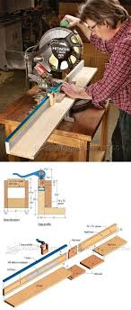 Miter Saw Fence Plans Miter Saw Tips Jigs And Fixtures Woodarchivist Com Woodworking Woodworking Plans Fence Planning