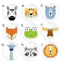 Amazon Com Woodland Forrest Animal Drawer Knobs Furniture Kids Knobs Pulls Handmade