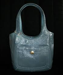 how to clean patent leather coach bag