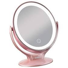 aesfee led lighted makeup mirror