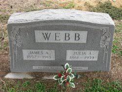 Julia Adeline Carter Webb (1861-1939) - Find A Grave Memorial