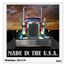 Trucker Art Wall Decor Zazzle