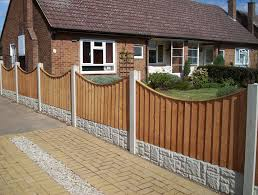 Concaved Long Eaton Fencing
