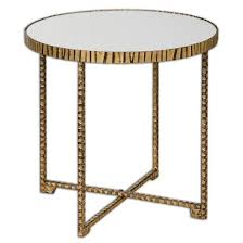 myeshia round accent table round