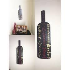 Walls Black Bottle Red White Wine Bar Kitchen Wall Decal Sticker Wine Lovers Gift Sale